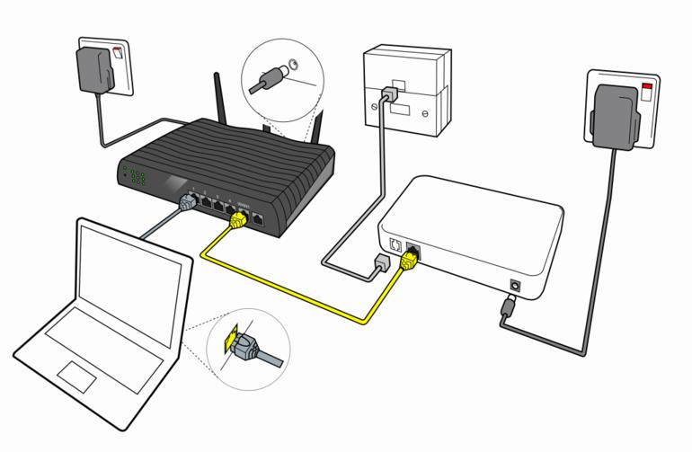 Инструкция по подключению оптоволокна в картинках