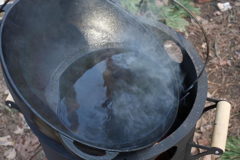 Прокалка казана: обжиг в духовке и на костре, правильная подготовка посуды из чугуна и алюминия
