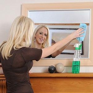 отмыть стекло