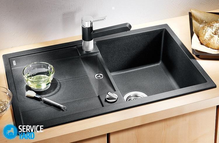Чем чистить раковину из искусственного камня �� чем мыть, как очистить налет - Уборка в квартире