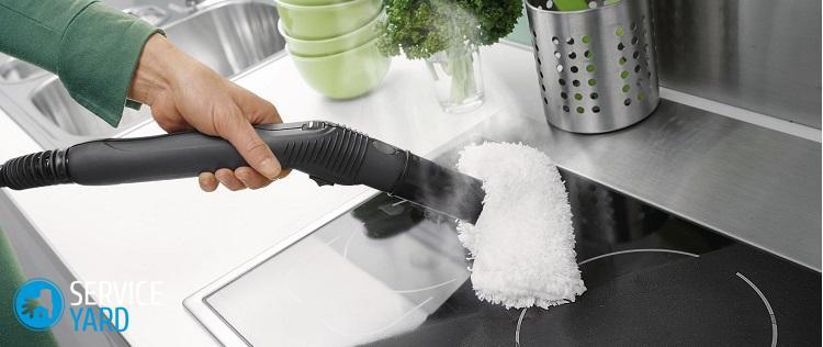 Что можно очистить пароочистителем