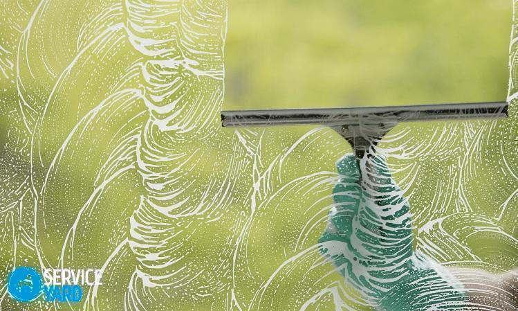 Как мыть окна с нашатырным спиртом - Уборка в квартире