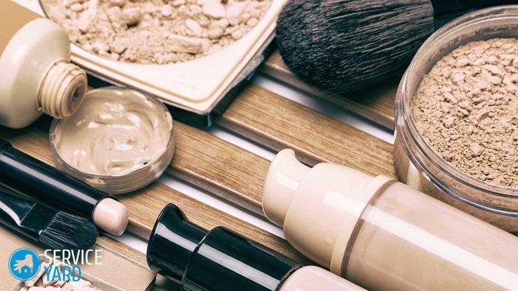 Чем отстирать тональный крем; как убрать тональник на одежде