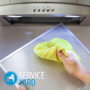 Как отмыть вытяжку от жира