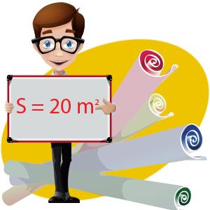 Расчет количества рулонов обоев по площади комнаты