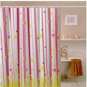 как мыть шторы для ванной