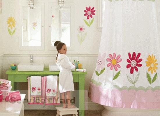Как отмыть занавеску в ванной