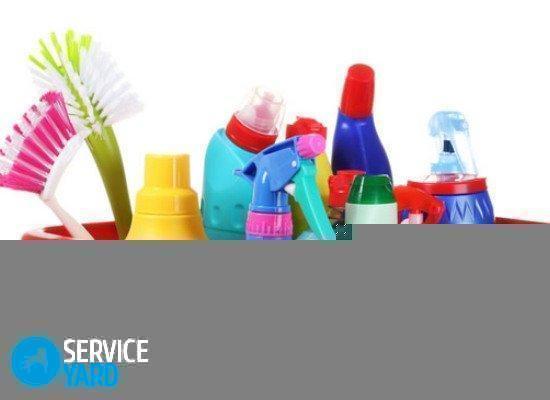 Чистящее средство - Уборка в квартире