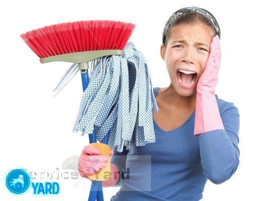 Для пыли тряпка - Уборка в квартире