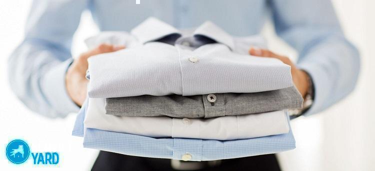 Как отстирать воротник рубашки?