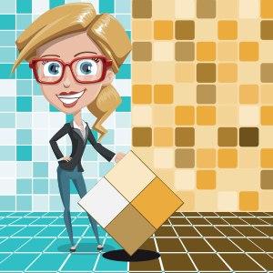 Расчет надобности плитки для ремонта ванной или кухни