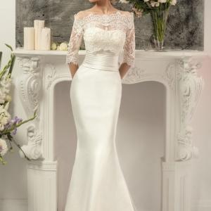 Как удалить пятно на свадебном платье