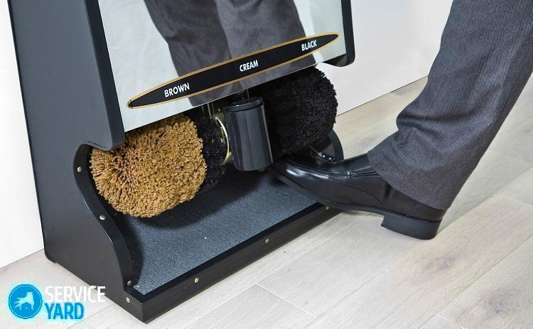 Электрическая чистка для обуви