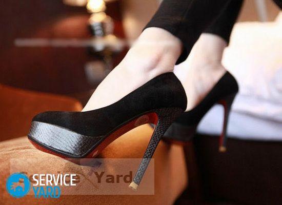 Что сделать, чтобы обувь не красила ноги?