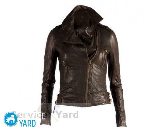 Как разгладить куртку из кожзама?