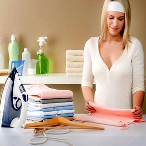 Как убрать подпалины от утюга с одежды?