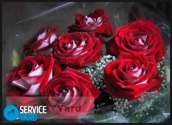Как сделать букет из роз своими руками?