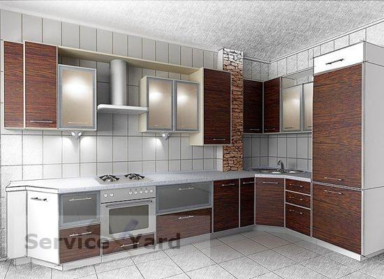 Сделать кухонный гарнитур своими рука