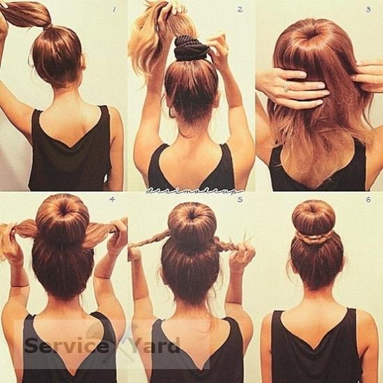 резинки на волосы своими руками фото
