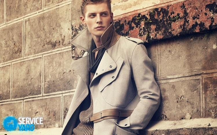 Как правильно ухаживать за мужским пальто?