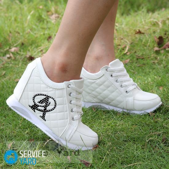 Як доглядати за білою шкіряним взуттям  aac7c2c73d5a1
