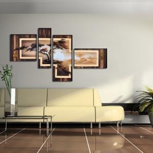Как сделать картину своими руками на стену?