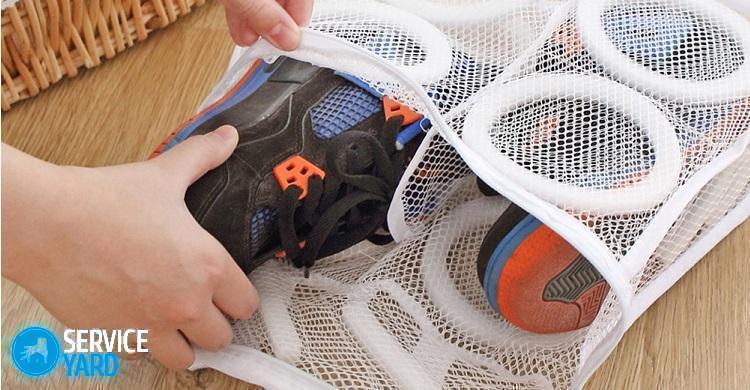 Мешок для стирки кроссовок - выбор, плюсы, применение
