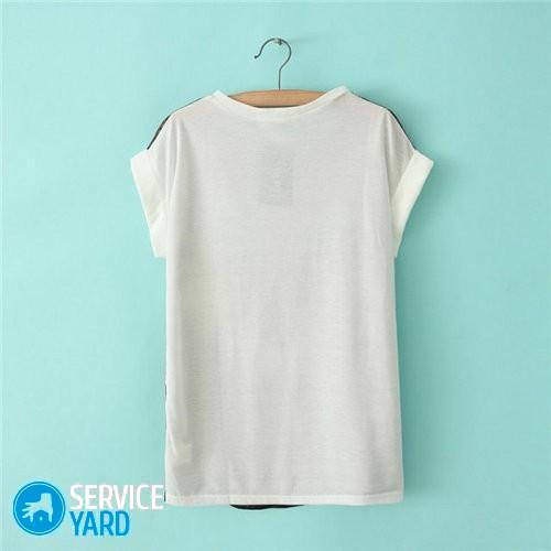 Чем отбелить футболку в домашних условиях, ServiceYard-уют вашего дома в Ваших руках