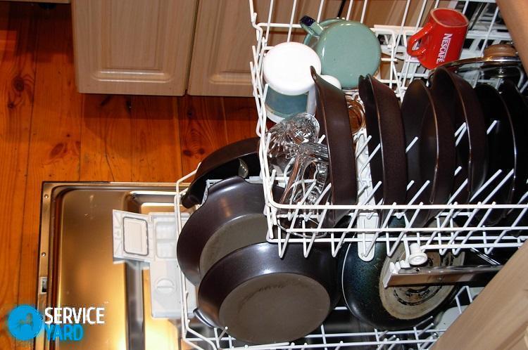 Белый налет на посуде после мытья в посудомоечной машине