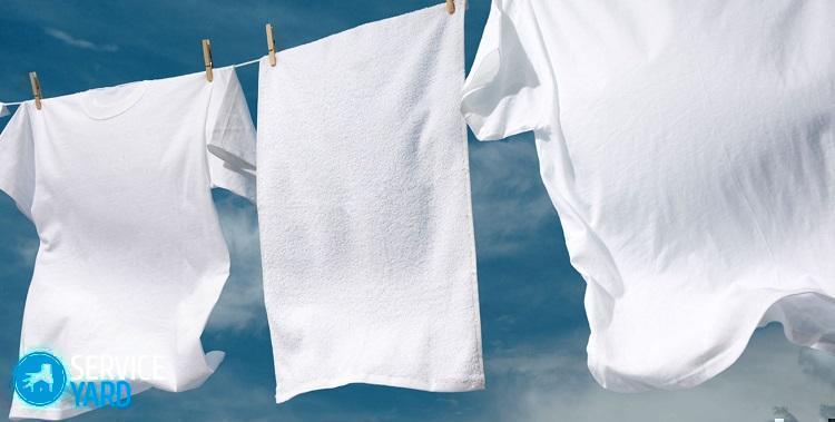 Как отбелить белую футболку; как правильно и эффективно кипятить белые вещи