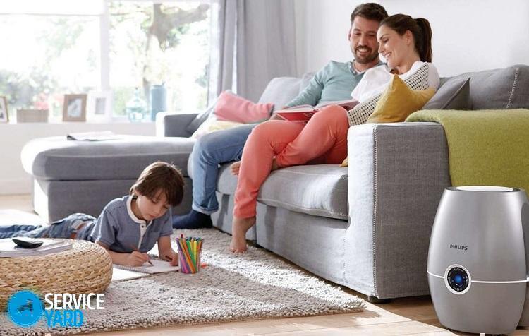 Для чего нужен увлажнитель воздуха дома?