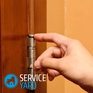 Чем смазать дверные петли, чтобы не скрипели?