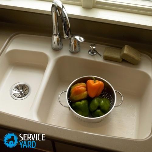 Чем чистить раковину из искусственного камня на кухне? Уборка в квартире