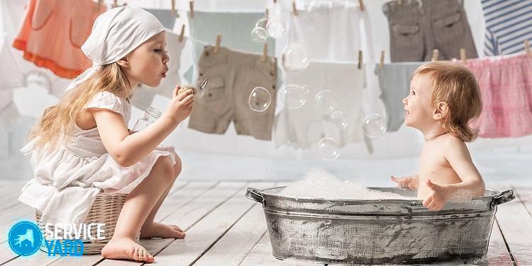 Гель для стирки детского белья