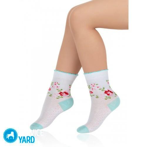 Как правильно и легко стирать детские белые носки?