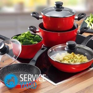 Какая посуда подходит для стеклокерамической и идукнционной плиты