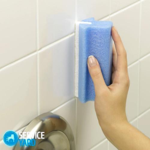 Как отмыть шершавую плитку на полу; чем очистить и оттереть кафель, средства - Уборка в квартире