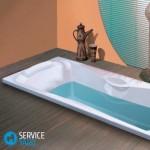 Как мыть акриловую ванну?