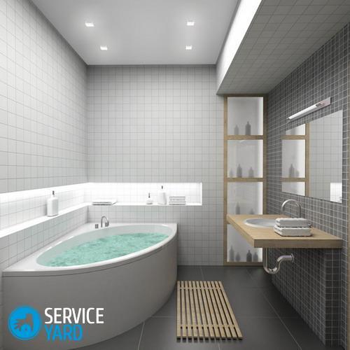 Грибок на потолке в ванной - как избавиться?