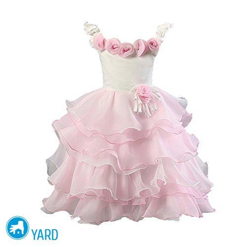 Как накрахмалить платье детское; подъюбник, юбку крахмалом, видео