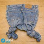 Как осветлить джинсы в домашних условиях?