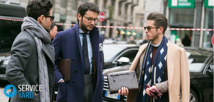 Как правильно ухаживать за мужским пальто