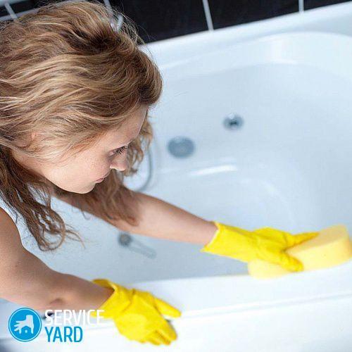 Как очистить ванну от ржавчины в домашних условиях?