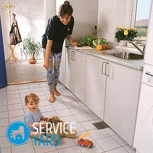 Как отмыть плитку на полу от въевшейся грязи?