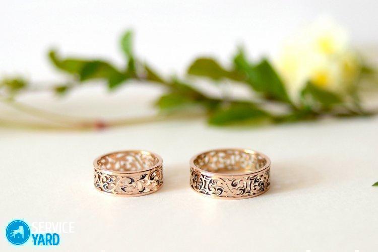 Полировка кольца; обручального от царапин