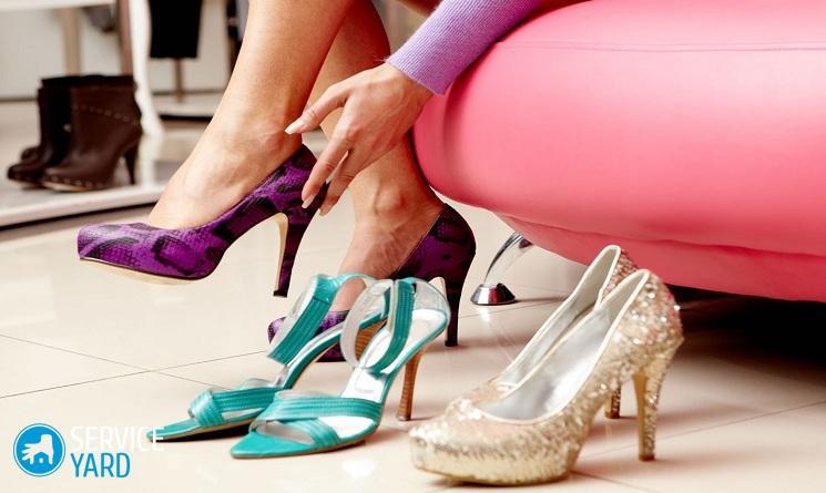 Как разносить обувь которая жмет в домашних условиях