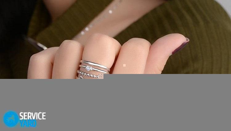 Как почистить серебряное кольцо в домашних условиях 64