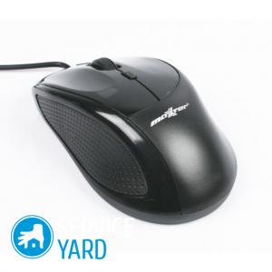 Как почистить мышку от грязи?