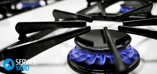 Как очистить решетку на газовой плите в домашних условиях