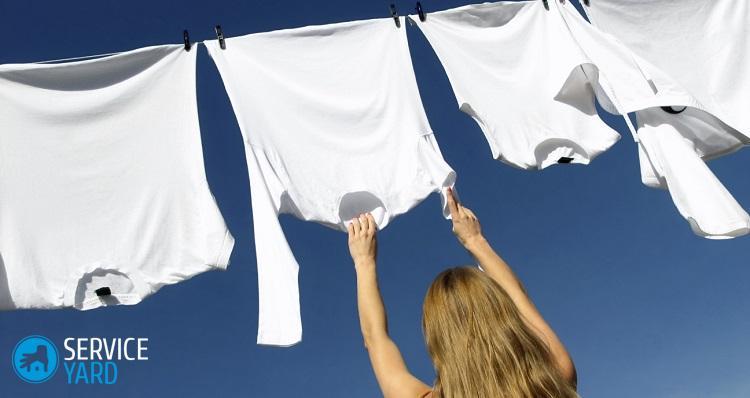 Как отстирать ржавчину с белой одежды в домашних условиях